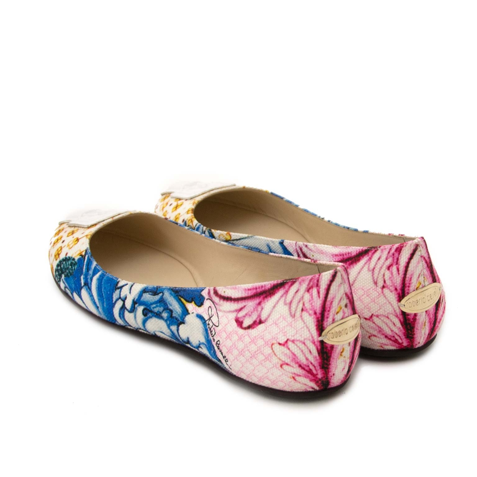 Buy roberto cavalli ballerinas at labellov vintage fashion webshop belgium