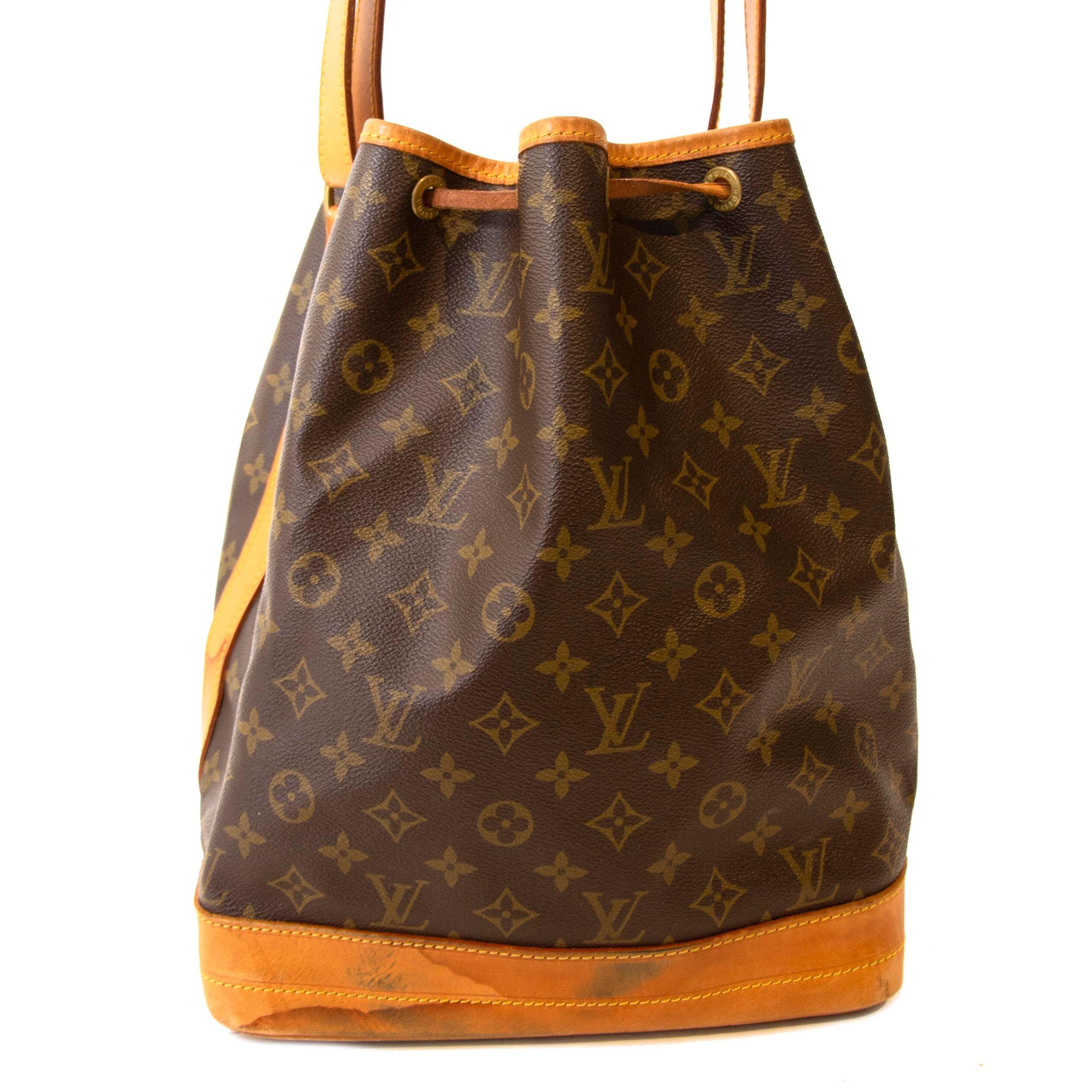 82e1a896f118 Louis Vuitton Monogram Noé Bucket Bag Buy secondhand Louis Vuitton handbags at  Labellov.