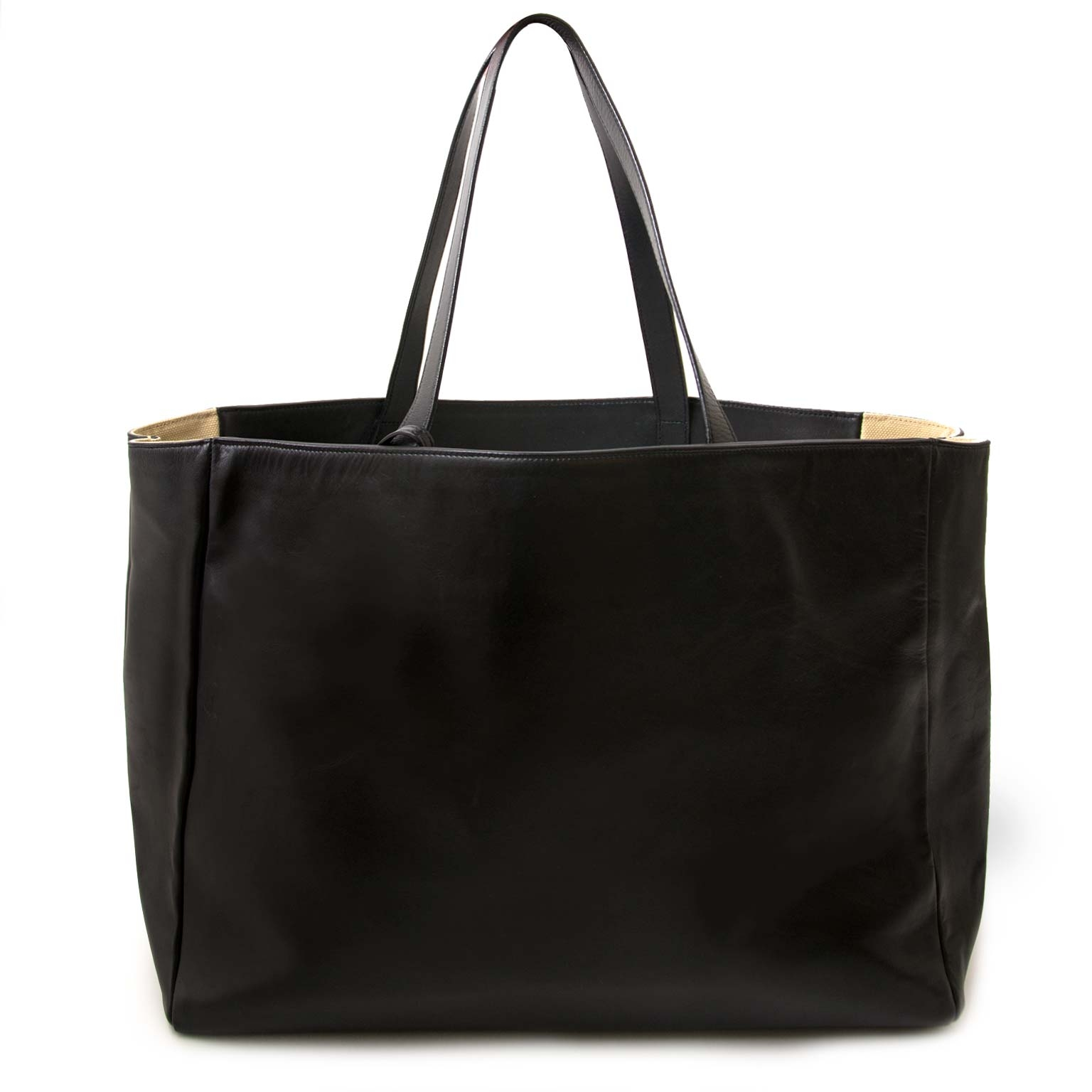 buy Saint Laurent Black East West Shopper at labellov for the best price