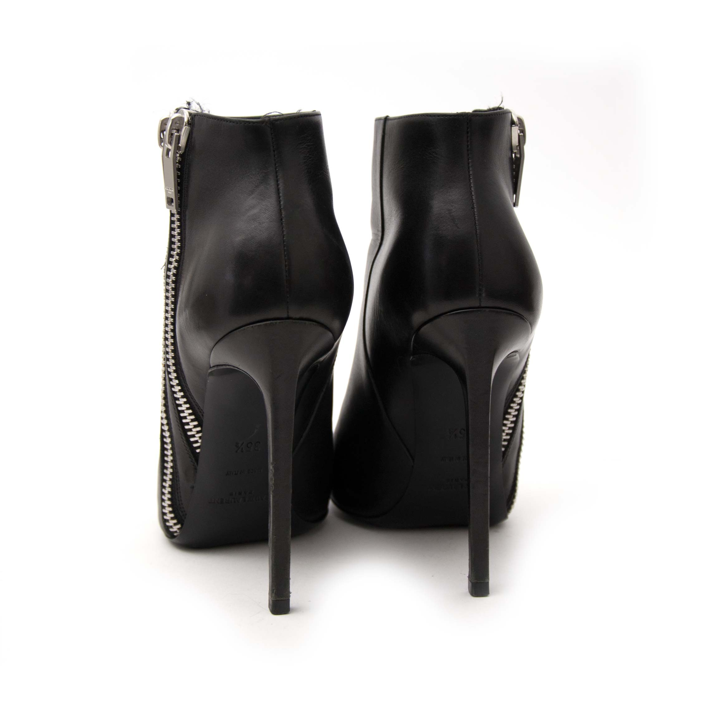 Te koop in Antwerpen: Saint Laurent Zipper Booties