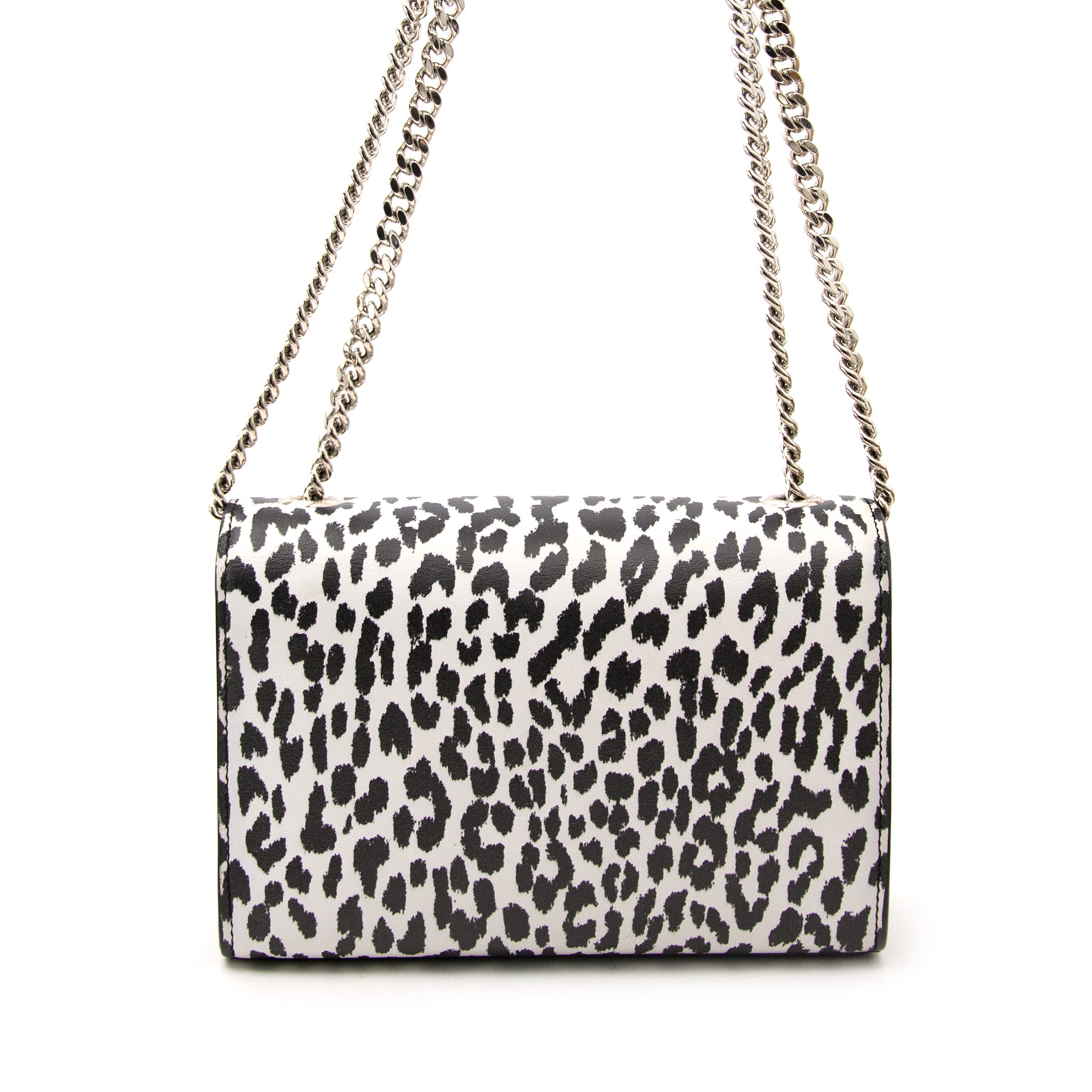 cdd4850c6eef ... Labellov in Antwerpen Are you looking for an authentic Saint Laurent  Mini Monogram Dalmatian Bag   Buy safe and