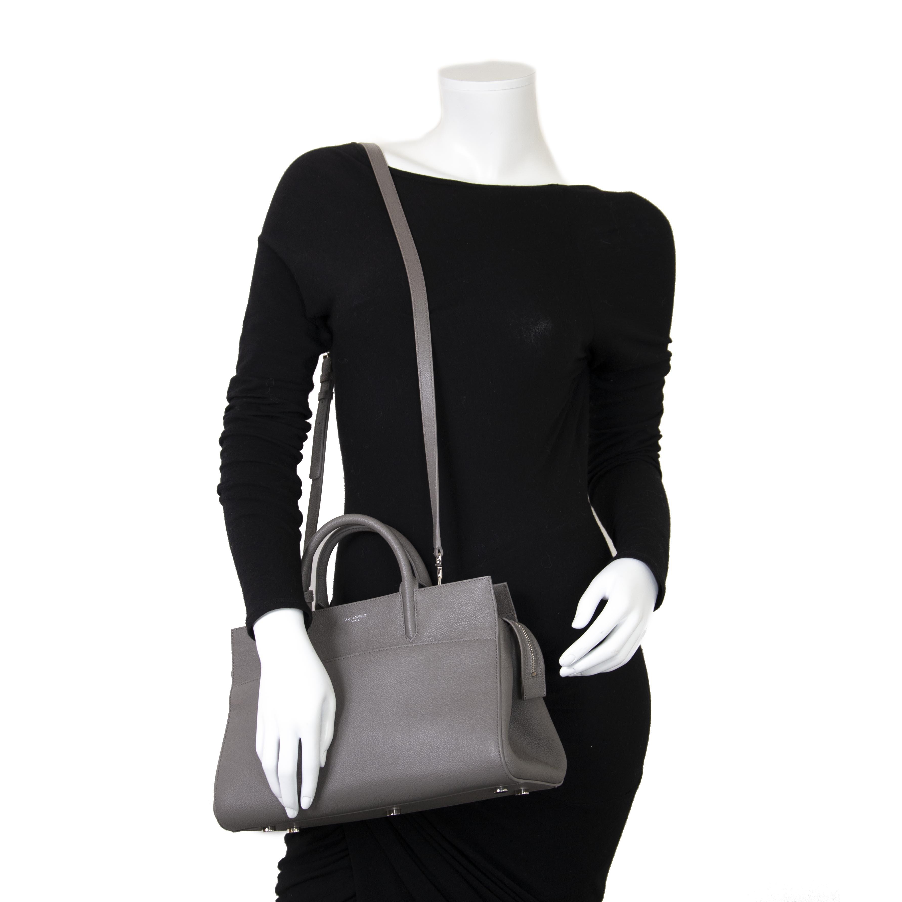 Yves Saint Laurent Small 'Cabas Rive Gauche' Tote now for sale at labellov vintage fashion webshop belgium