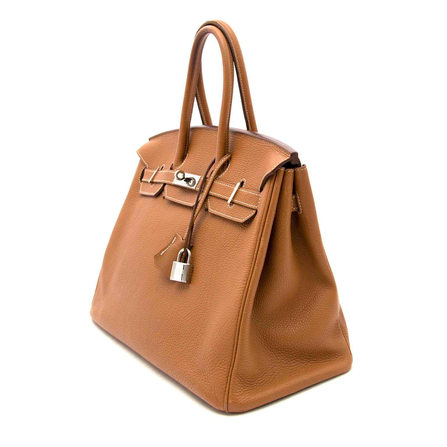 acheter en ligne pour le meilleur prix sac a main Hermes Birkin 35 Gold Togo enligne ou boutique hermes belgique Labellov Anvers