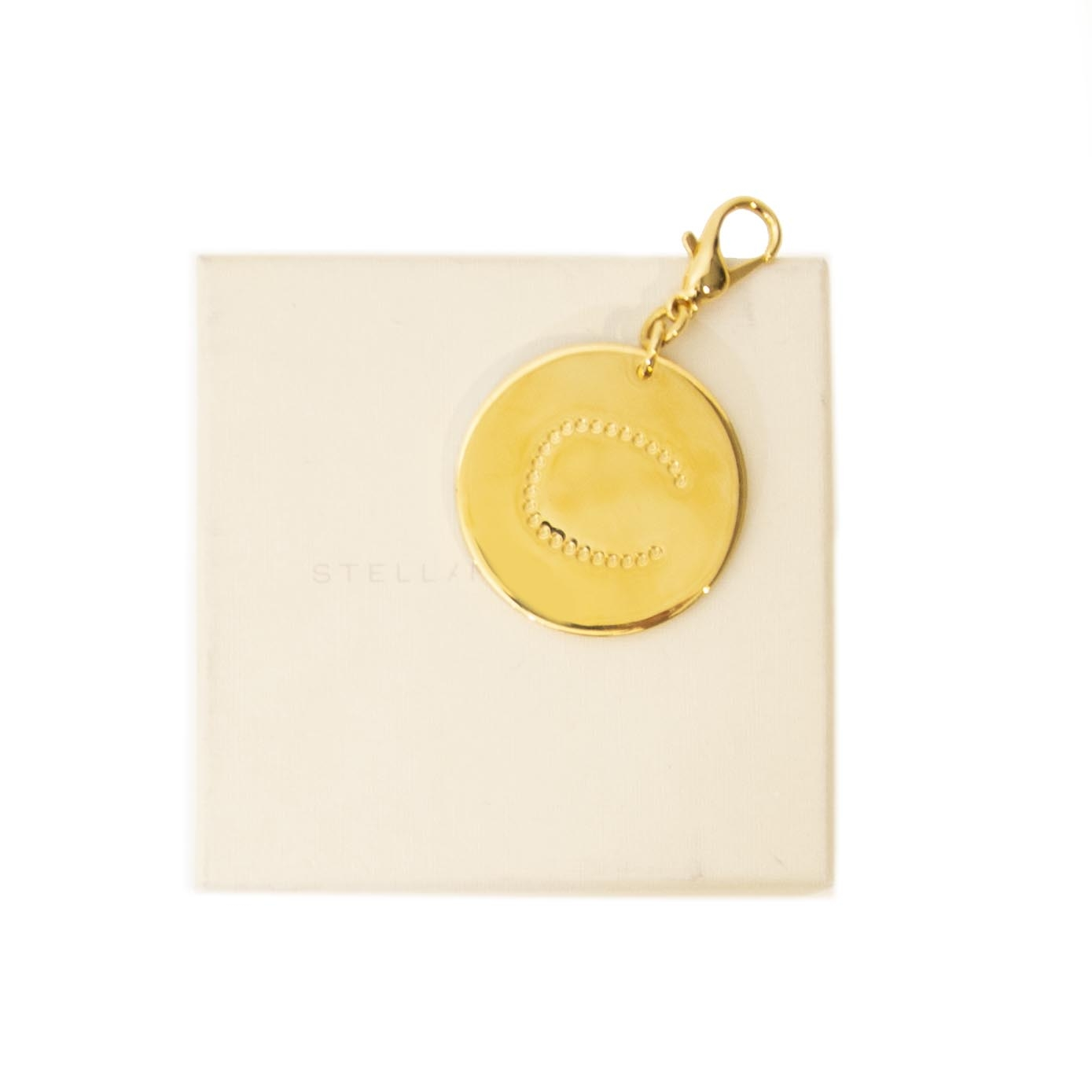 Stella McCartney Gold 'C' Keychain