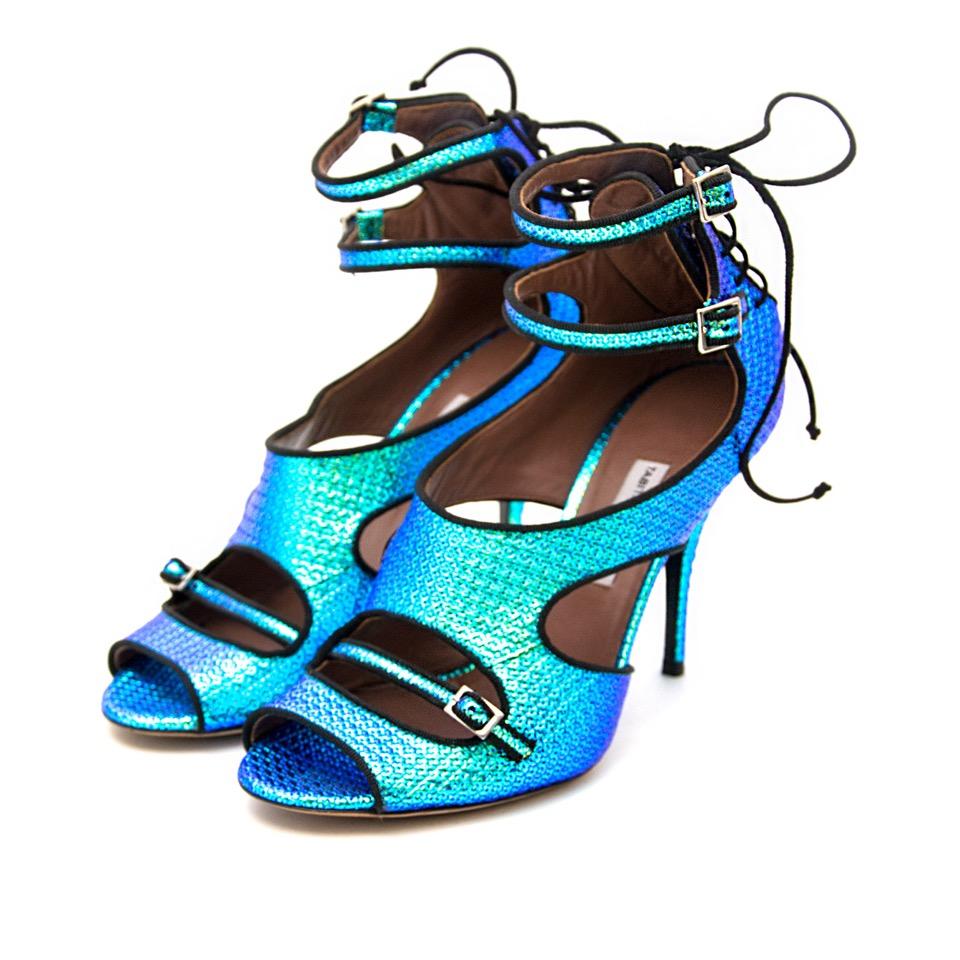 koop online net als nieuw aan de beste prijs Tabitha Simmons Holographic Heels