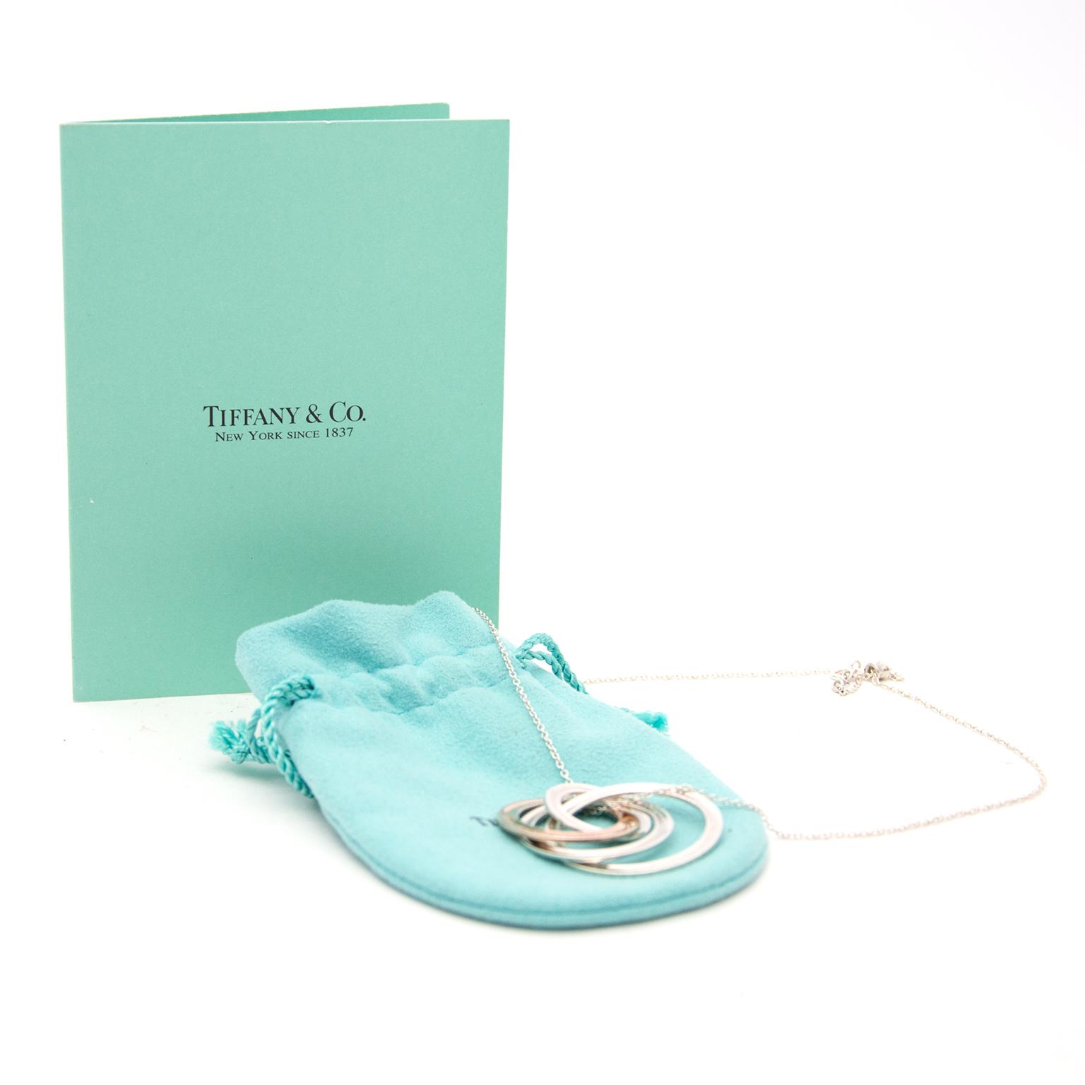 Tiffany & Co Halskette heute online auf labellov.com gegen den besten Preis.