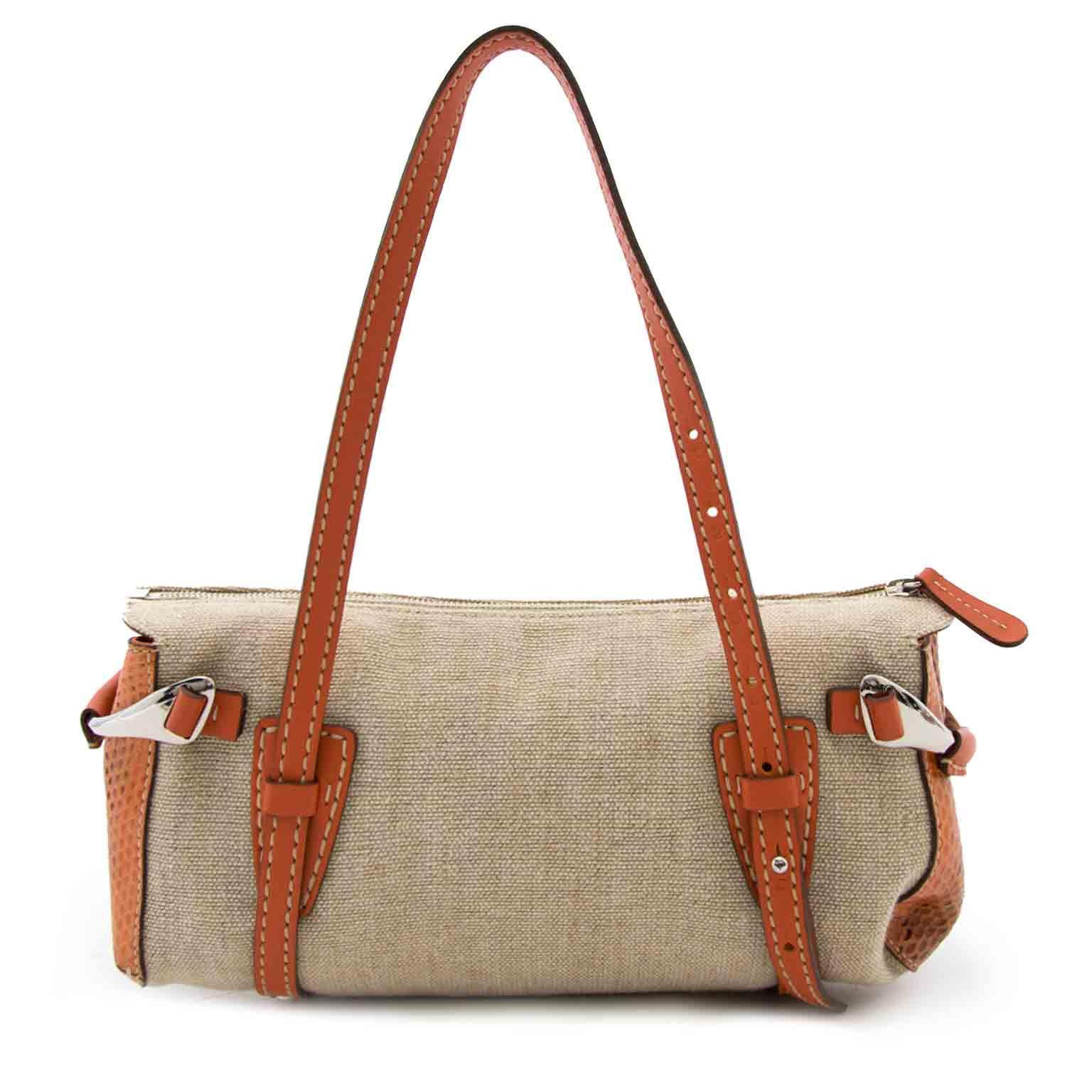 tod's linnen schoulder tas nu bij labellov.com tegen de beste prijs