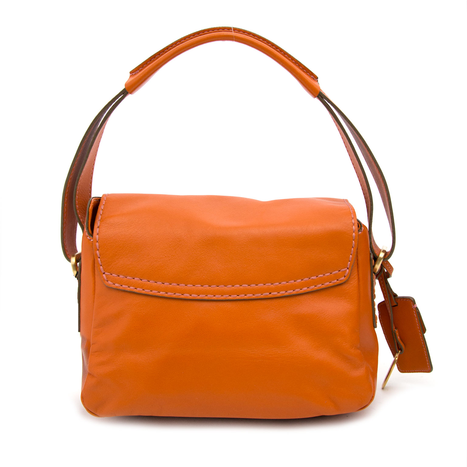 b04bab0f1c ... Shop Tod's Orange Shoulder bag at the right price at Labellov.com