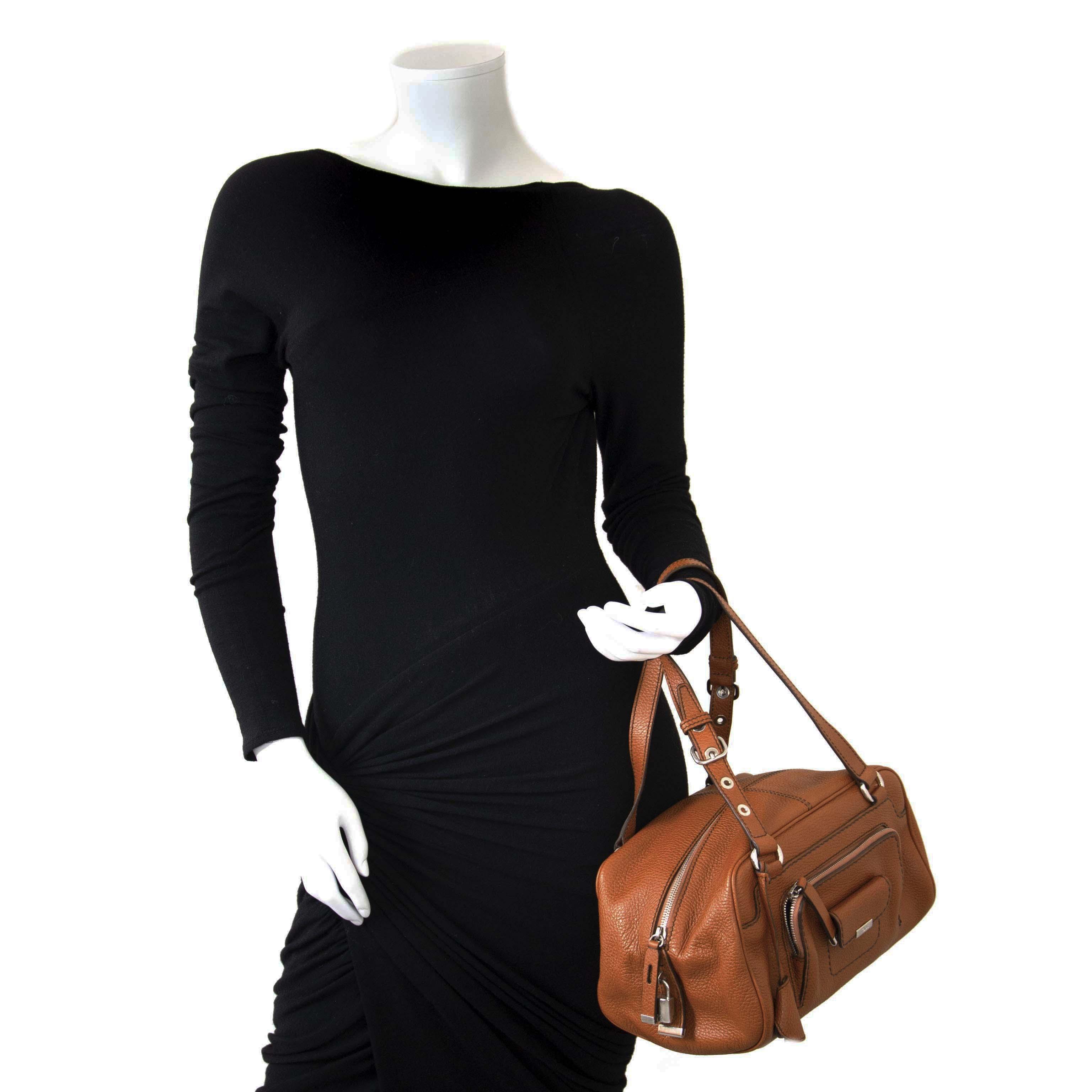 4560ffe108 ... Tod's Cognac Leather Shoulder Bag now for sale at labellov vintage  fashion webshop belgium