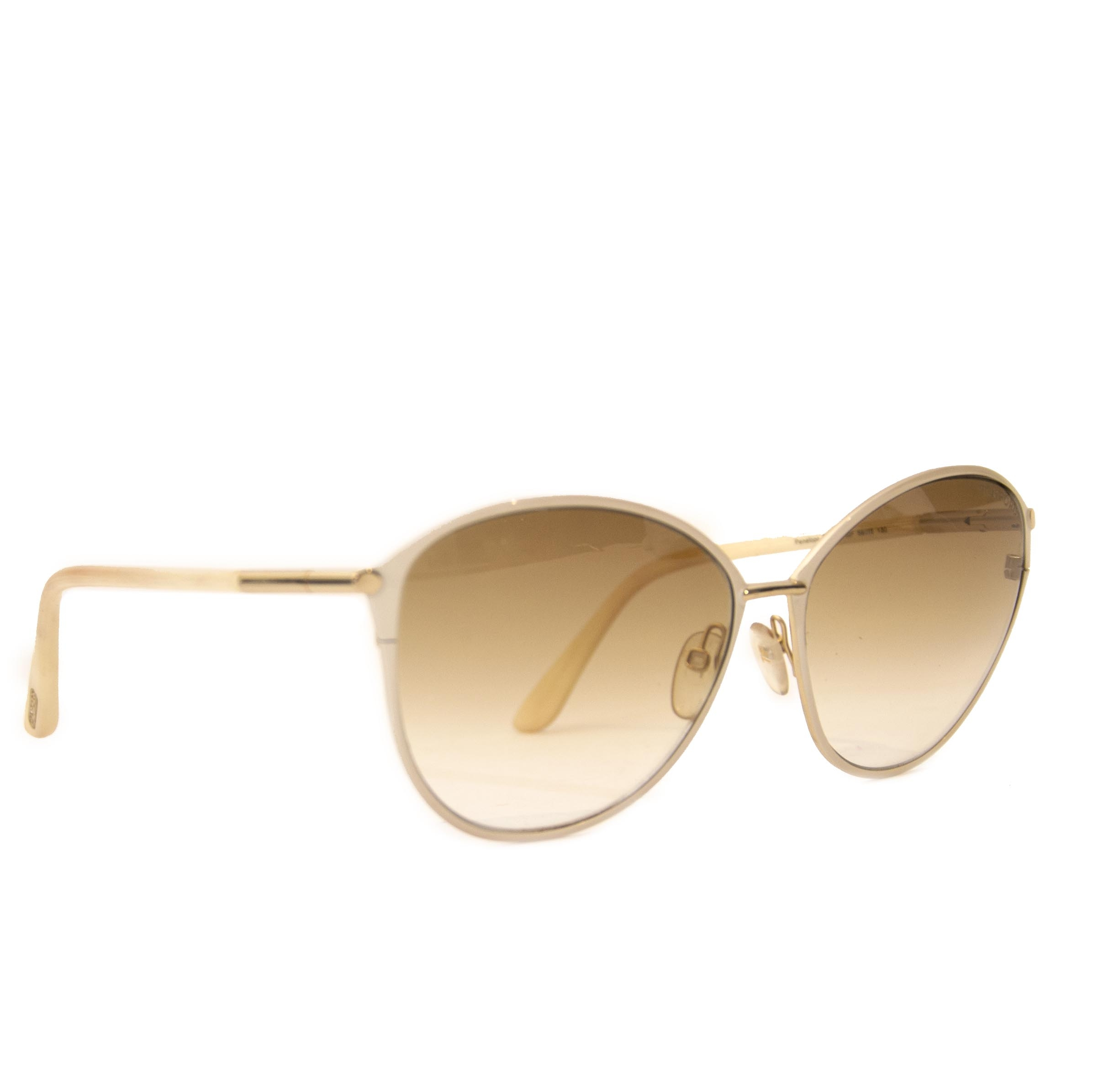 6490090d23d4 ... Authentic second hand vintage Tom Ford Penelope Sunglasses buy online  webshop LabelLOV