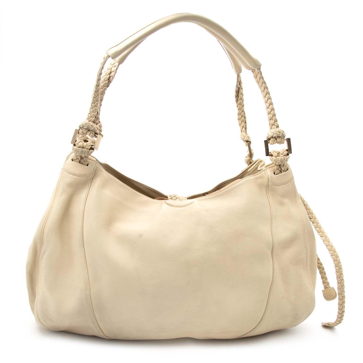 buy Delvaux Beige Eugene Bag at labellov