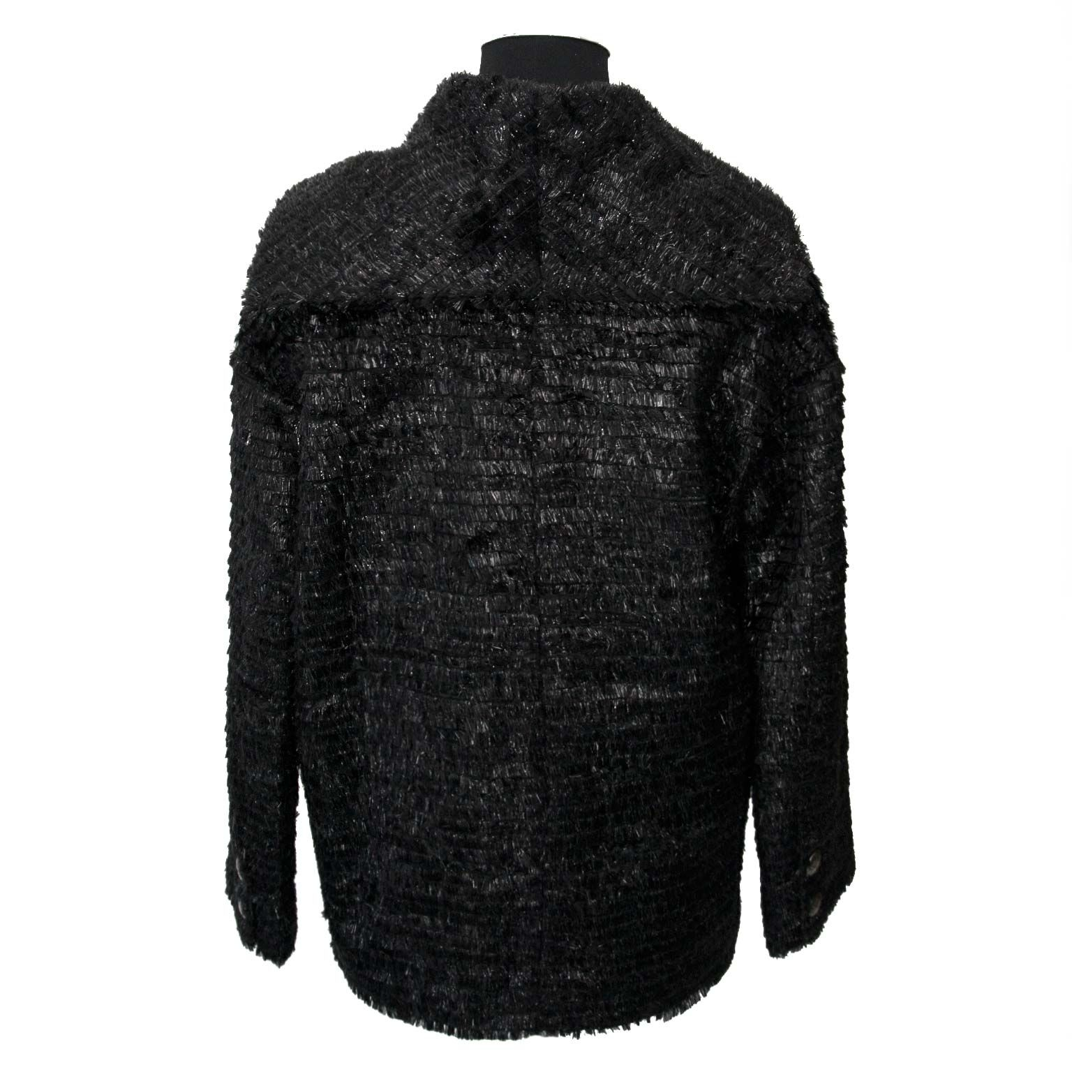 buy secondhand chanel black fabric vest at a good price at labellov