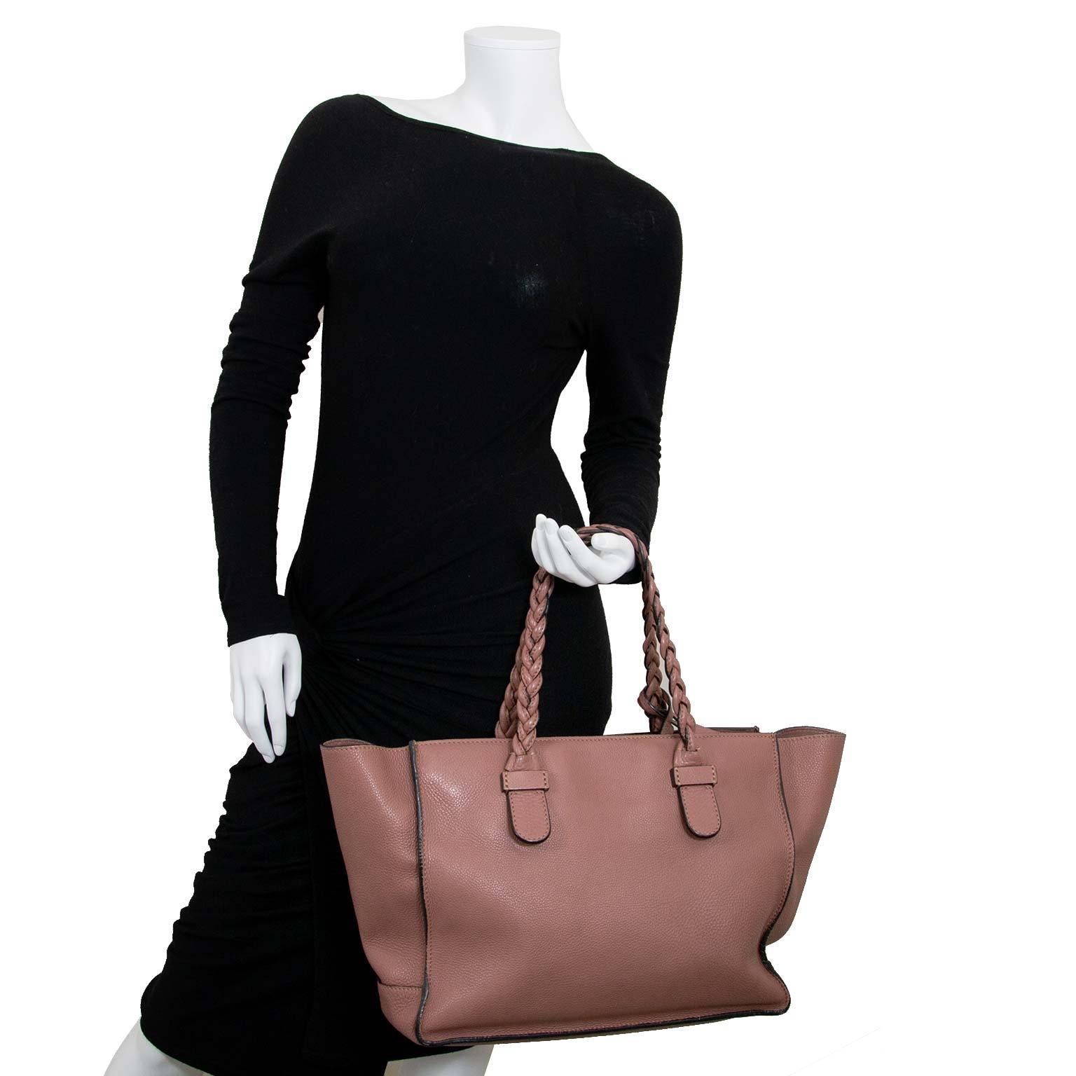 valentino garavani braided handle tote now for sale at labellov vintage fashion webshop belgium