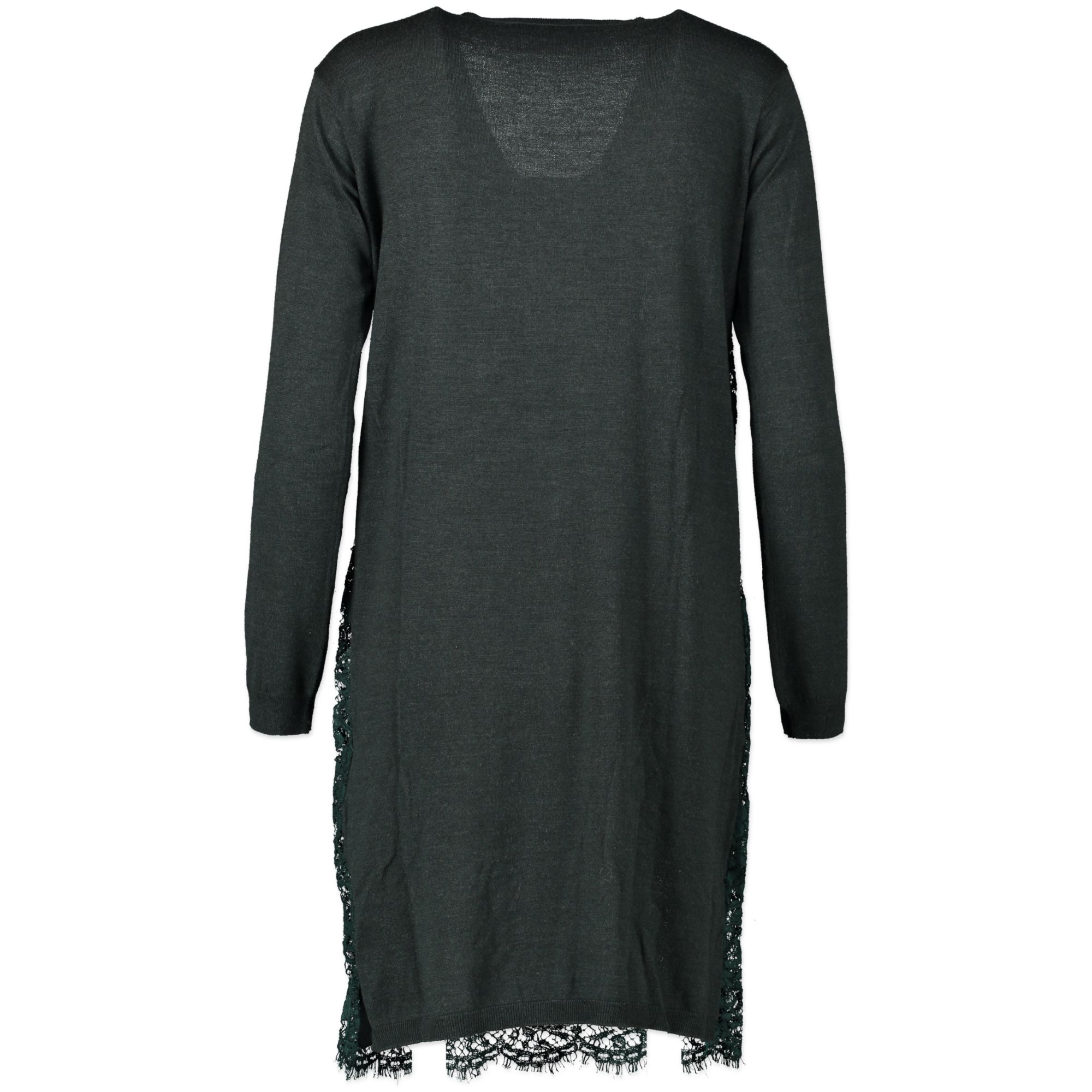 Valentino Green V-neck Lace Dress - size XS