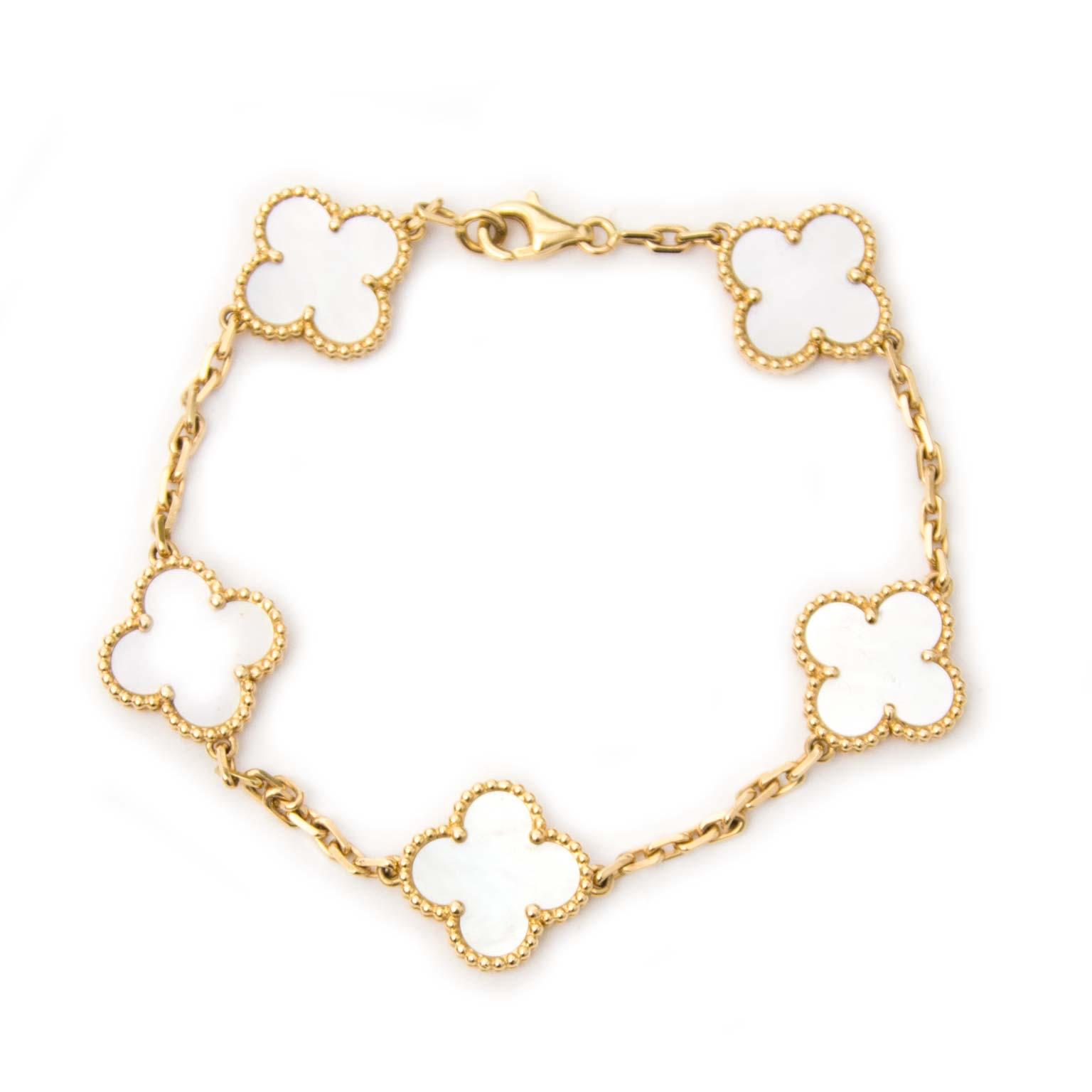 Van Cleef & Arpels Vintage Alhambra Bracelet online te koop
