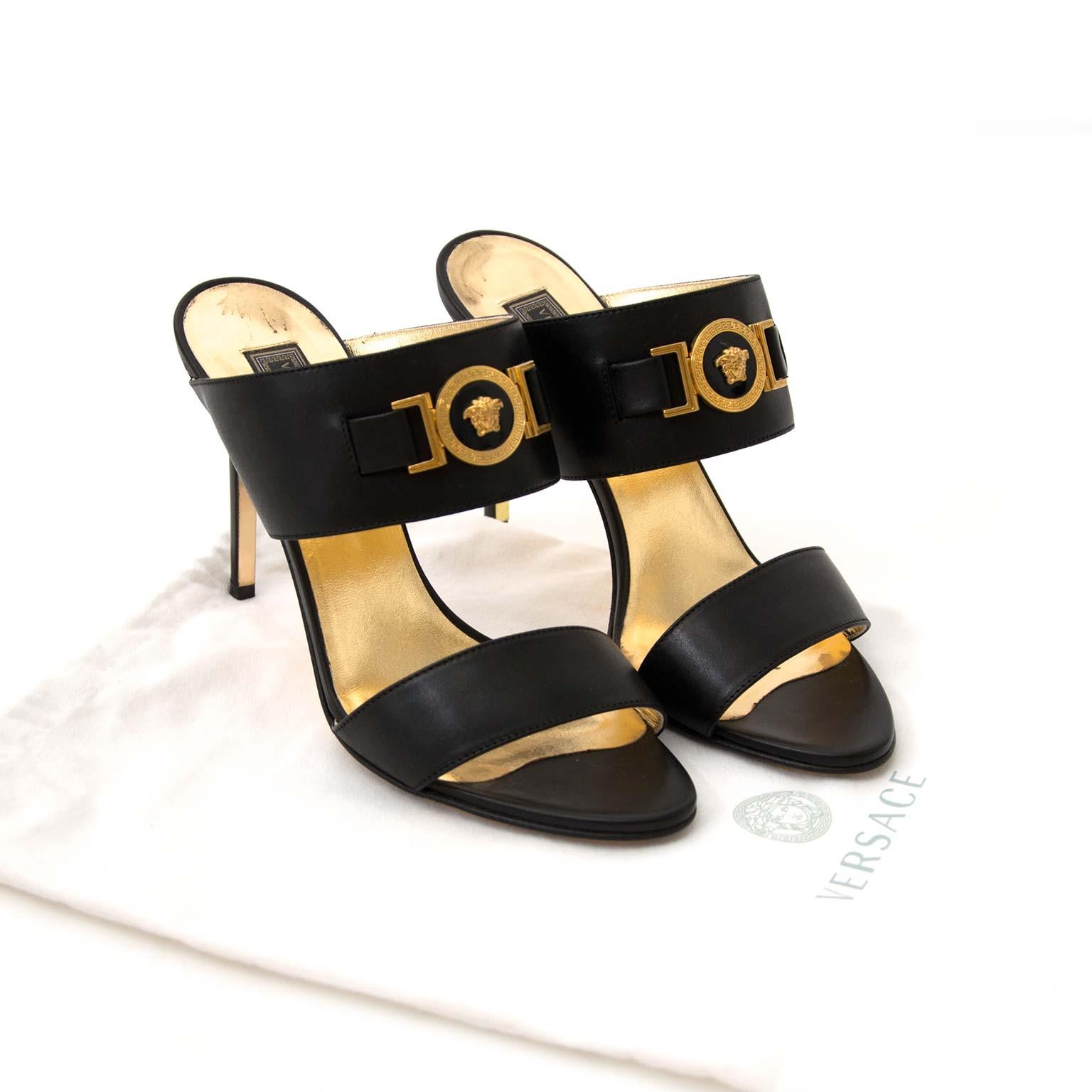 Te koop: Versace Medusa Heeled Sandals