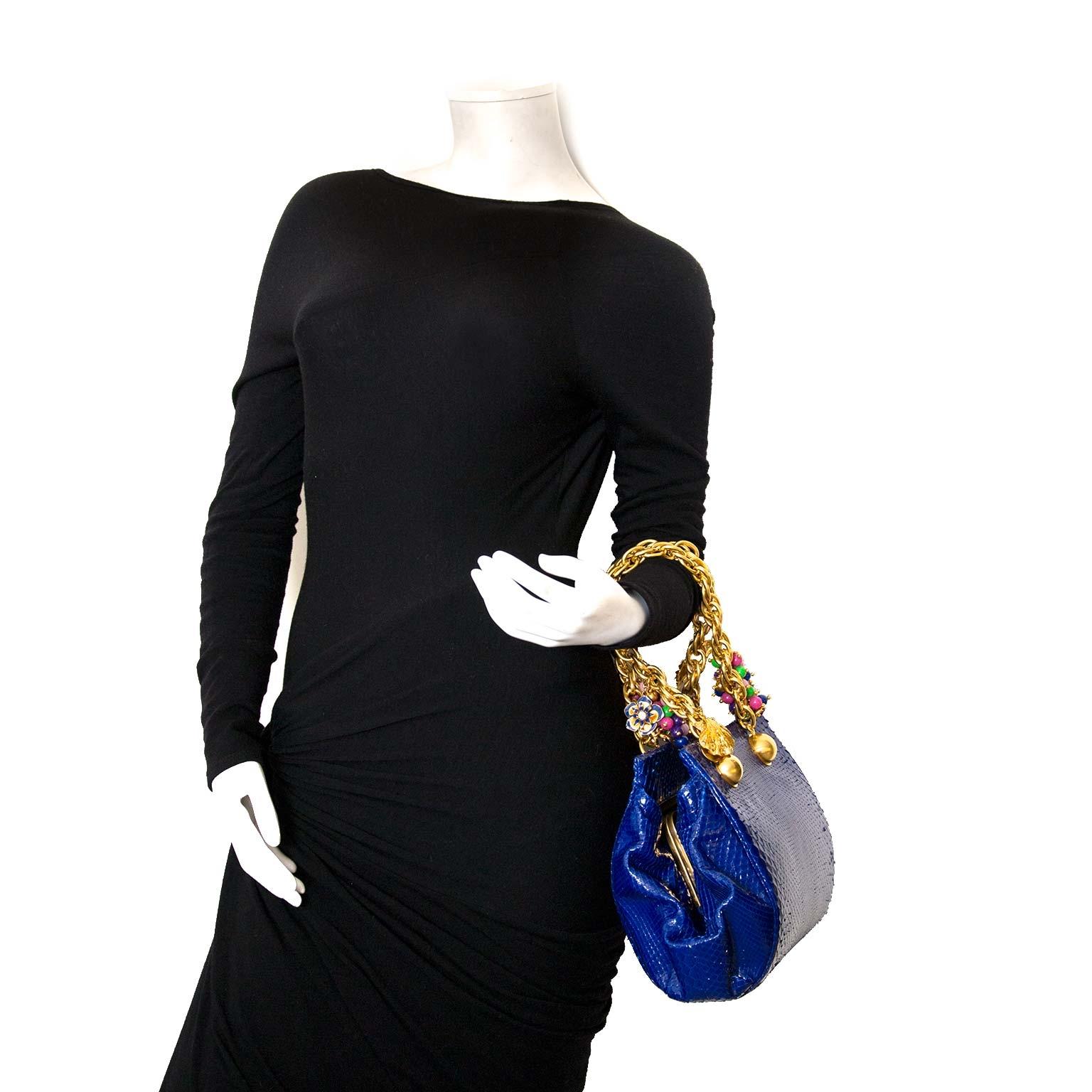 koop authenieke versace python tassen nu online bij labellov vintage webshop