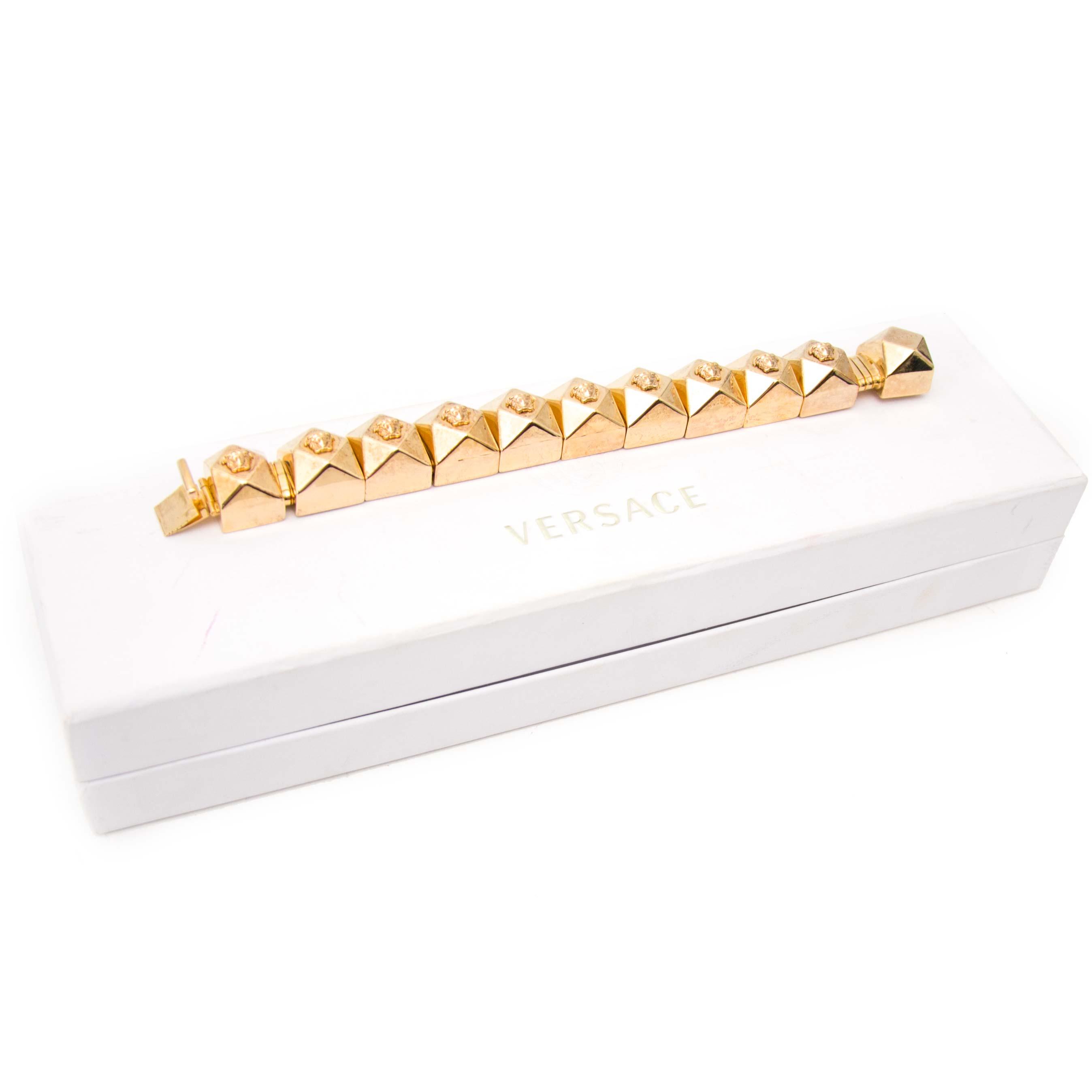 Authentieke armband Versace bij Labellov