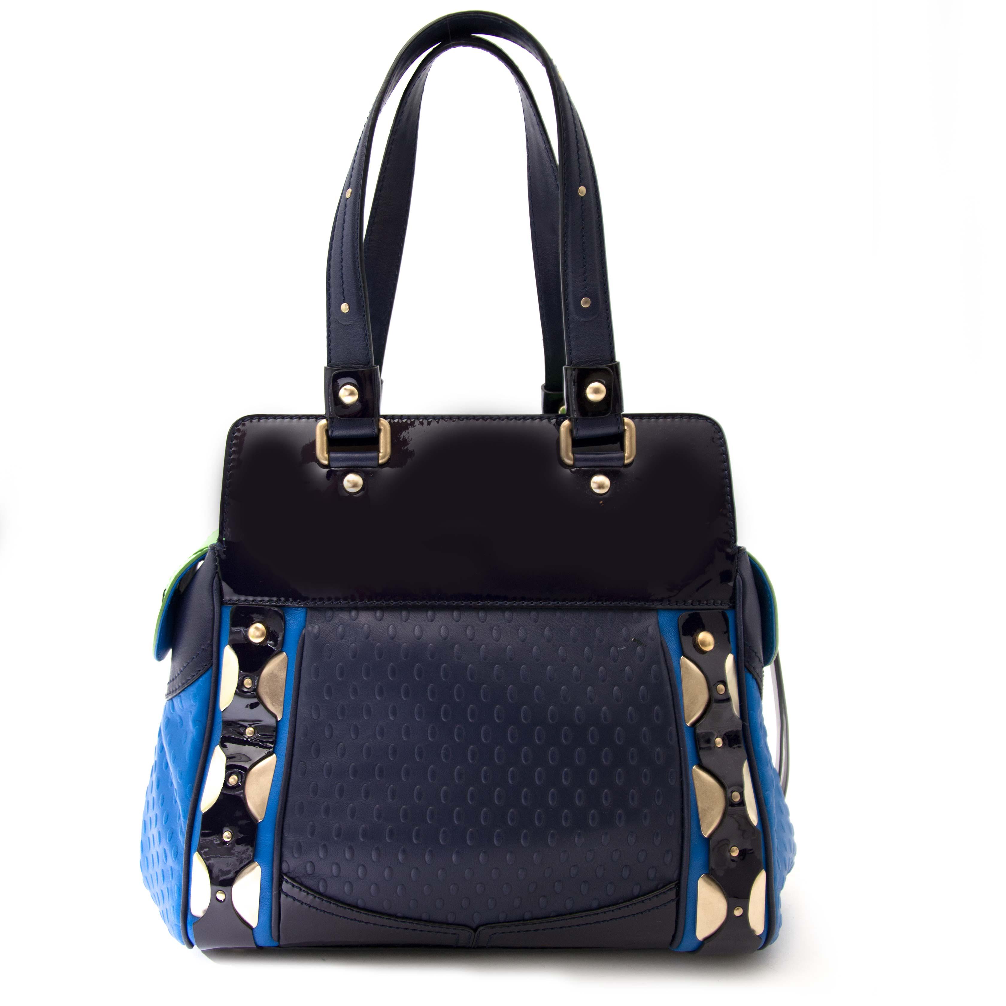 Versace Colorblock Shoulder Bag kopen