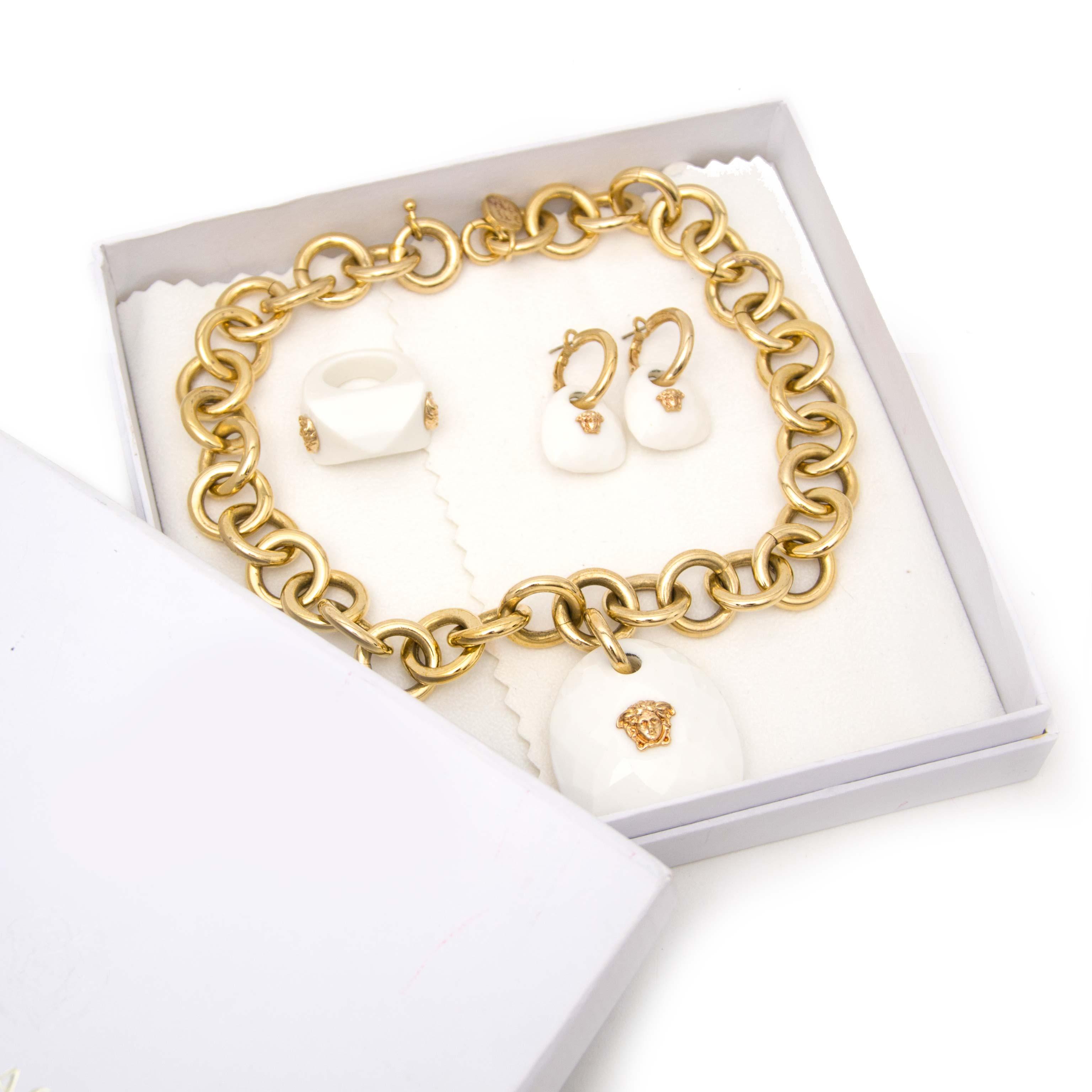 Authentieke tweedehands juwel Versace Labellov