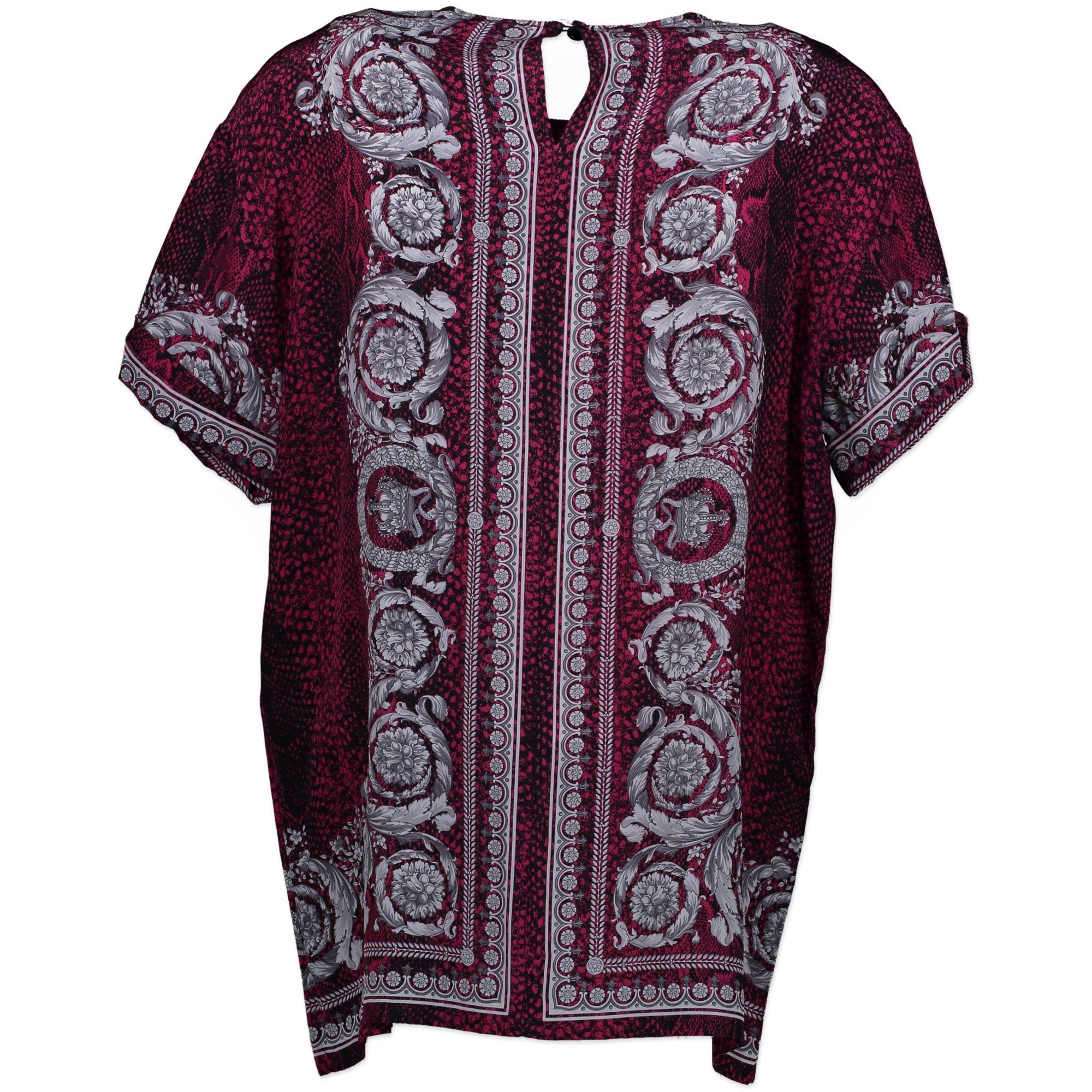 Versace Snake Print Shirt - size S/M