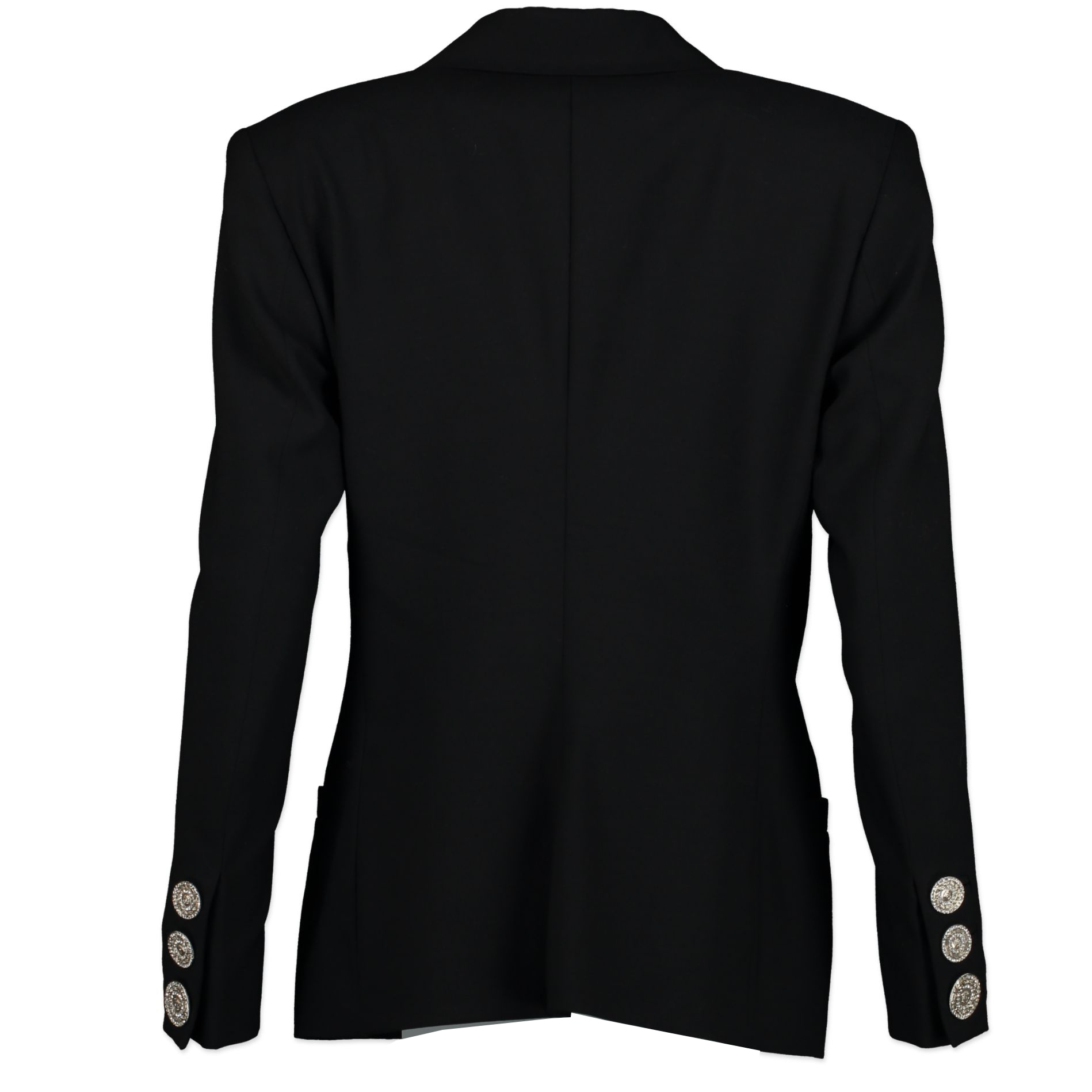 Versace Black Medusa Heads Buttons blazer for sale online at Labellov secondhand luxury in Antwerp