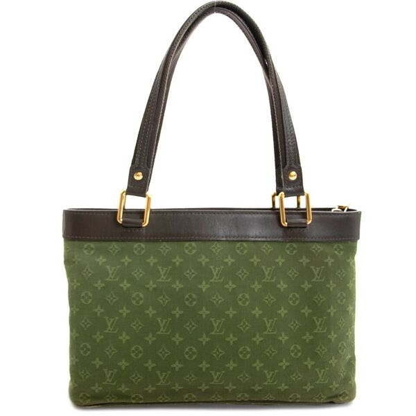 Green Louis Vuitton Monogram
