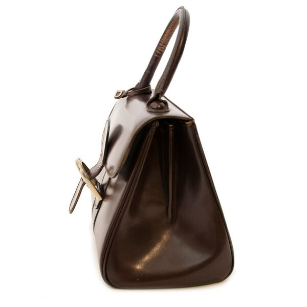 Buy vintage Delvaux brown PM Brillant Bag for the best price at Labellov webshop