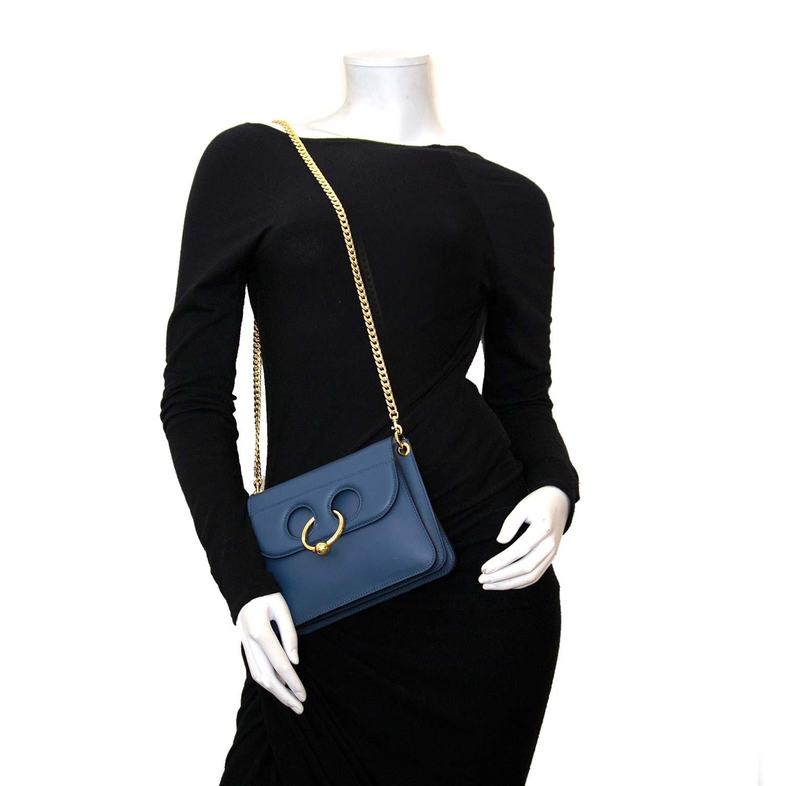 koop authentieke jw anderson mini pierce bag storm bij labellov vintage mode webshop belgië