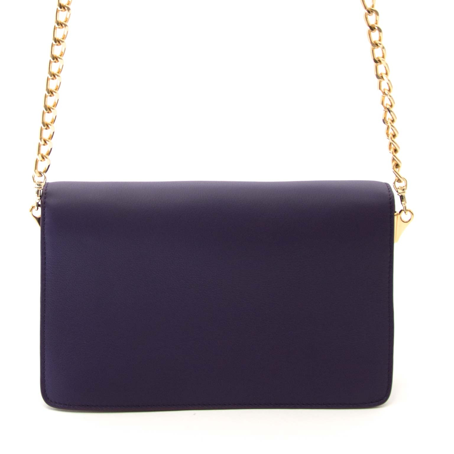 buy JW Anderson Purple Logo Purse Bag at labellov for the best price