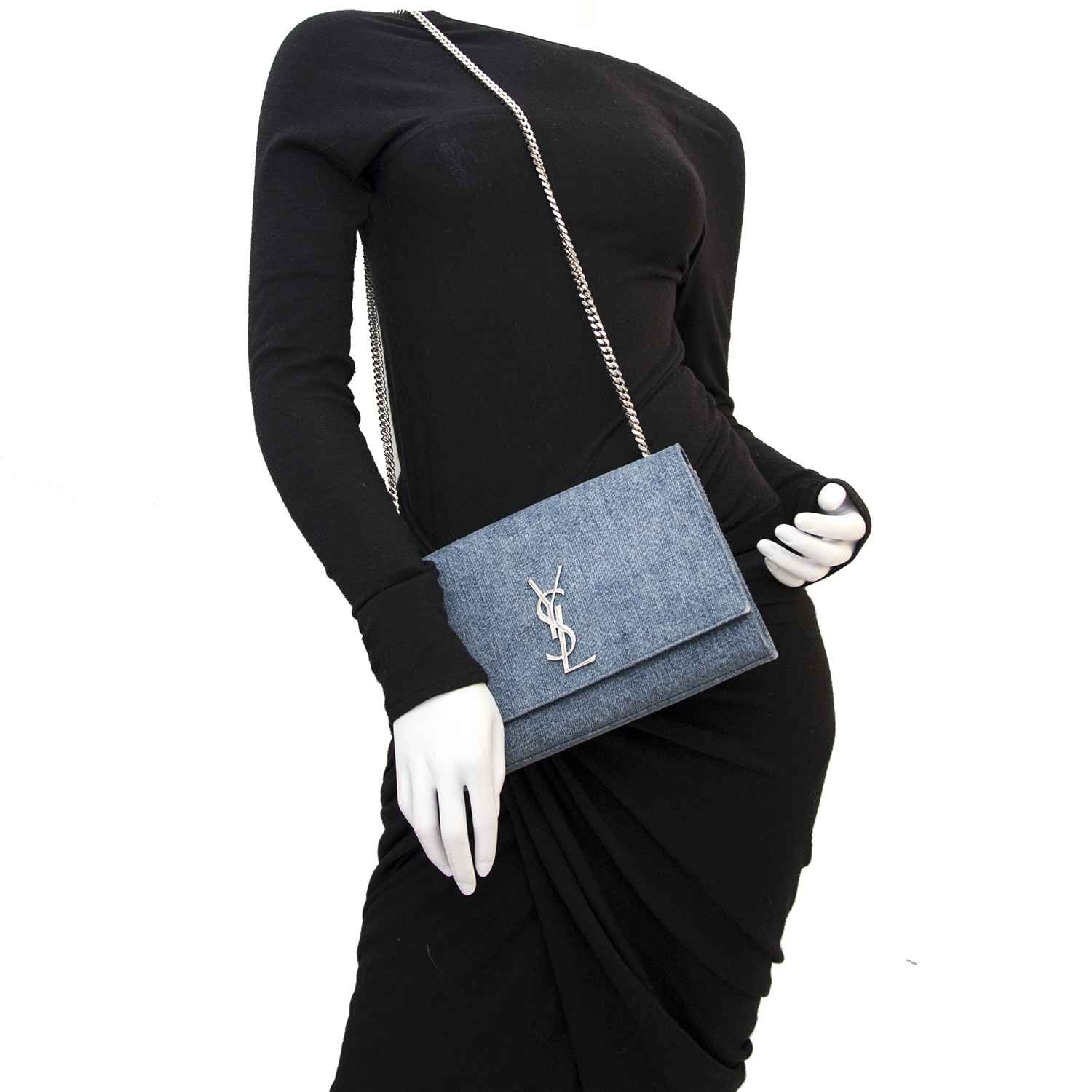 c4faa0e240e7 Safe and secure Vintage Saint Laurent Kate bag for the best price at  Labellov webshop. Safe and secure