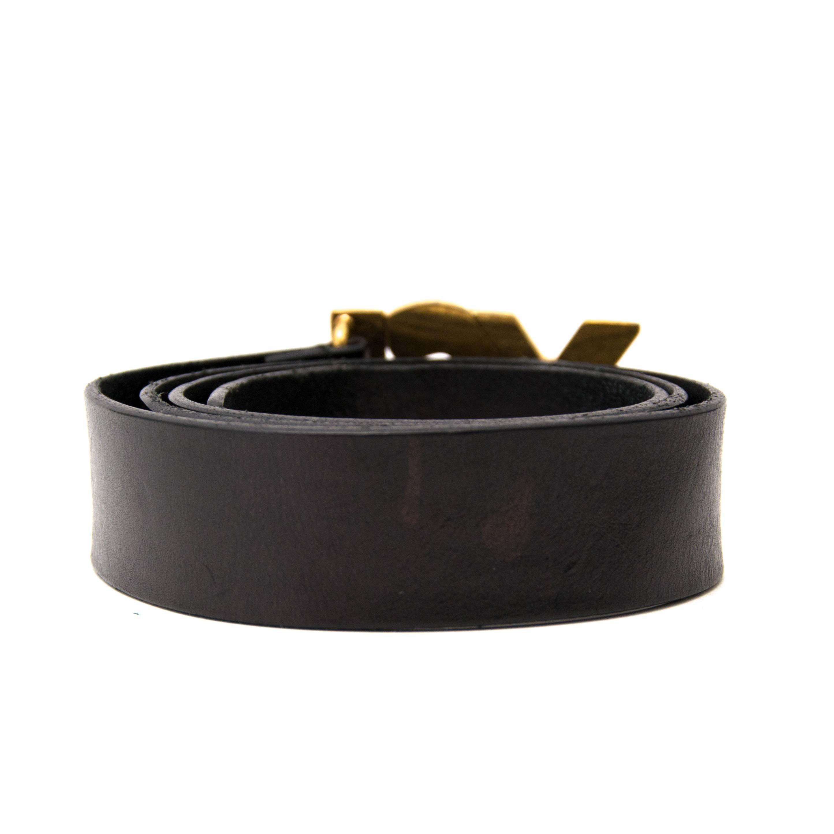 1dcf96524 ... Acheter en ligne chez labellov.com pour le meilleur prix yves saint  laurent monogram belt