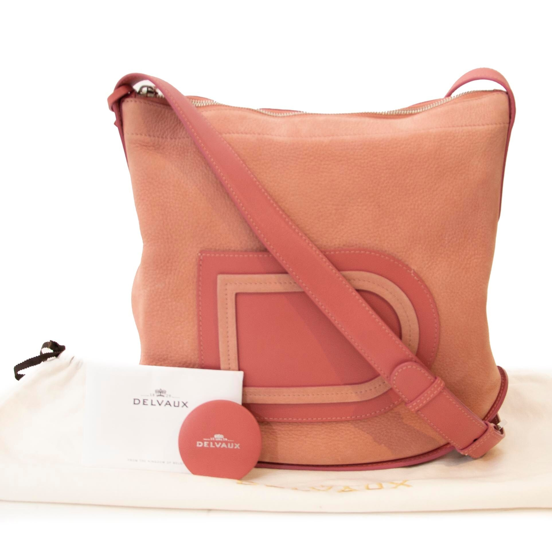 Pink Delvaux Pin bag